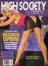 High Society April 1989 magazine back issue