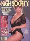 High Society May 1989 magazine back issue