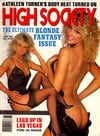 High Society June 1989 magazine back issue
