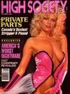 High Society October 1989 magazine back issue