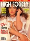 Racquel Darrian High Society November 1989 magazine pictorial
