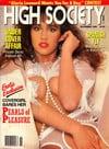 High Society November 1989 magazine back issue