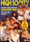 12 Girl All-Star Orgy magazine cover Appearances High Society January 1990