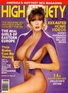 High Society May 1990 magazine back issue