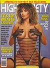 High Society June 1990 magazine back issue