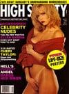 Stephanie Adams magazine cover Appearances High Society September 1990