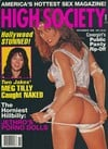 High Society November 1990 magazine back issue