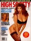 High Society April 1991 magazine back issue