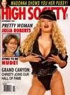 Sandra Scream magazine cover Appearances High Society November 1991