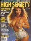 Julia Parton magazine cover Appearances High Society January 1992