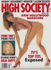 Racquel Darrian magazine cover Appearances High Society March 1992