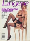 Racquel Darrian magazine cover Appearances High Society Winter 1992 - Lingerie