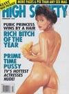 High Society February 1993 magazine back issue