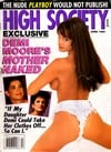 High Society April 1993 magazine back issue