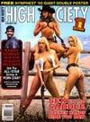High Society January 1995 magazine back issue cover image