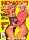 Adara & Adriana magazine cover Appearances High Society February 1996