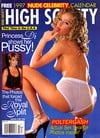 High Society Holiday 1996 magazine back issue