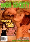 High Society Back Issues, Americas Hottest Hardcore Magazine, January 1999, Victoria Beckham Naked, Magazine Back Copies Magizines Mags