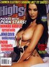 Natalia Cruz magazine cover Appearances High Society March 2005