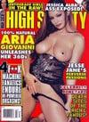 Aria Giovanni magazine cover Appearances High Society February 2006