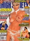 Eva Angelina High Society October 2008 magazine pictorial