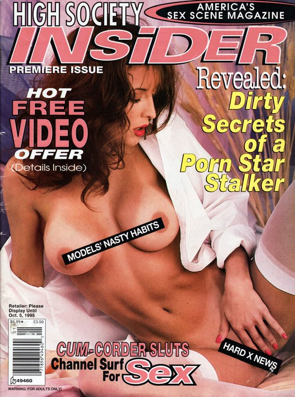 High society porn magazine covers the excellent