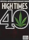 High Times November 2014 magazine back issue