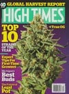 High Times December 2014 magazine back issue