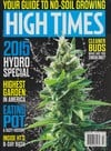 High Times February 2015 magazine back issue cover image