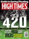 High Times May 2015 magazine back issue cover image