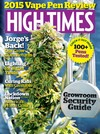 High Times July 2015 magazine back issue cover image