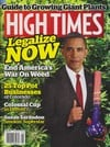 High Times August 2015 magazine back issue cover image