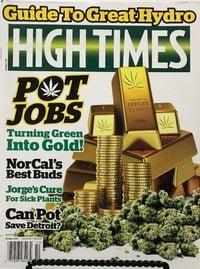 High Times October 2015 magazine back issue