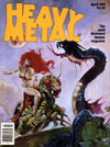 magazine cover Appearances Heavy Metal April 1981