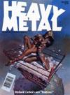 magazine cover Appearances Heavy Metal April 1985