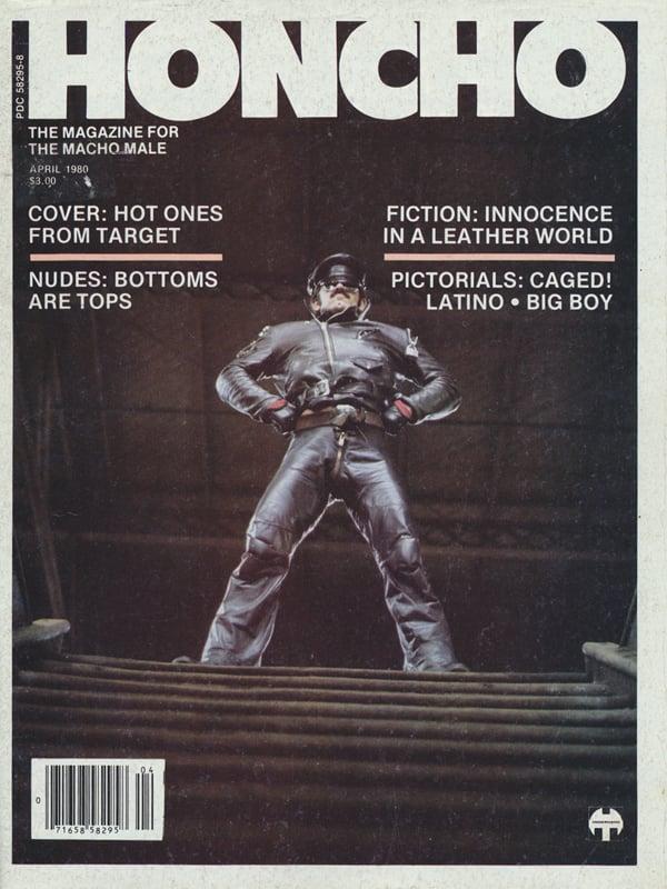 Honcho April 1980 Magazine Back Issue Honcho Wonderclub