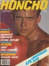 Honcho May 1984 magazine back issue