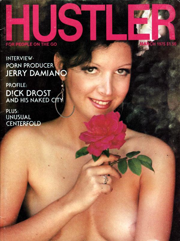 Hustler March 1975 magazine back issue Hustler magizine back copy hustler magazine back issues, amazing ladies nude, star interviews, adult comics, larry flynt,  1975