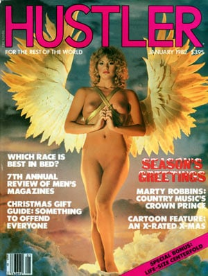 Hustler Centerfolds January 1990