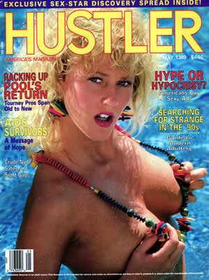 Hustler May 1989 magazine back issue Hustler magizine back copy hustler magazine back issues, amazing ladies nude, star interviews, adult comics, larry flynt,  1989