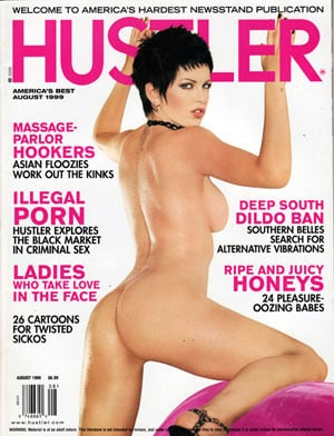 Final, Hustler magazine black nude