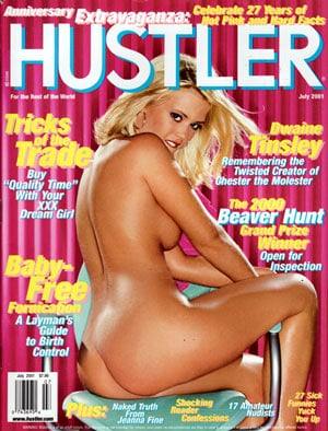Hustler may 1993 toc
