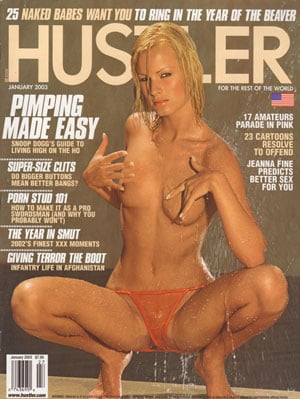 Hustler January 2003 magazine back issue Hustler magizine back copy hustler magazine dirty slutty girls xxx pics snoop dogg back issues xxx explicit photos sex porn mag