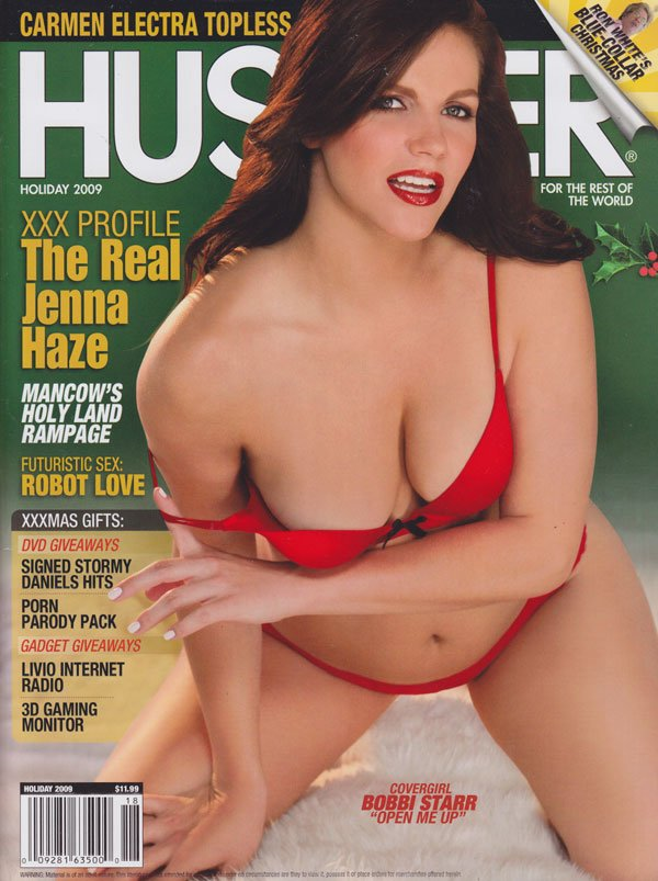 Hustler Holiday 2009 magazine back issue Hustler magizine back copy hustler magazine 2009 holiday issue xxxmas gift ideas carmen electra topless hottest pornbabes sprea