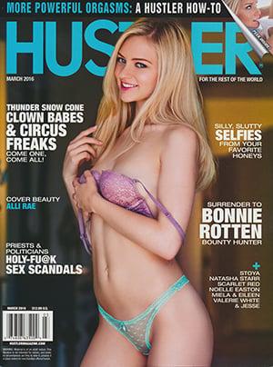 Hustler march 2008