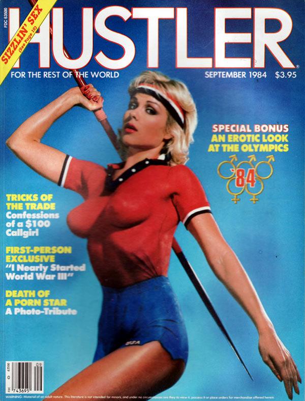 Hustler cover september 2001