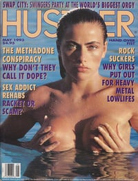 Hustler May 1993 magazine back issue