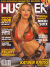 Kayden Kross magazine cover Appearances Hustler February 2008