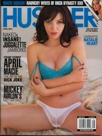 Hustler April 2014 magazine back issue