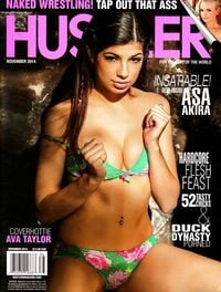 Hustler November 2014 magazine back issue